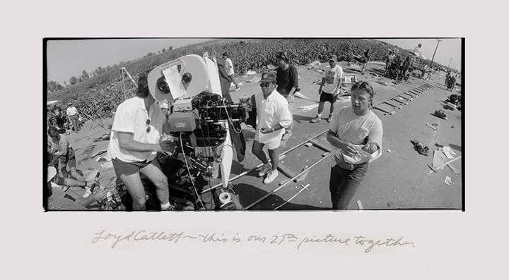 Photos from the set of Fearless by Jeff Bridges. All photos on pages 52 - 53 © (1992) Jeff Bridges  All Rights Reserved