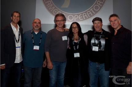 L to R: Randall Zisk, Steven Fracol, SOC, Paul Babin, SOC, Anne Renton, Robert Reed Altman, SOC, John Canning, PGA