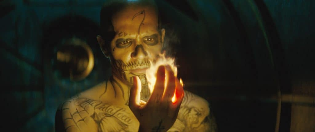 "JAY HERNANDEZ as Diablo in Warner Bros. Pictures' action adventure ""SUICIDE SQUAD,"" a Warner Bros. Pictures release. Photo credit: Courtesy of Warner Bros. Pictures/ TM & (c) DC Comics"