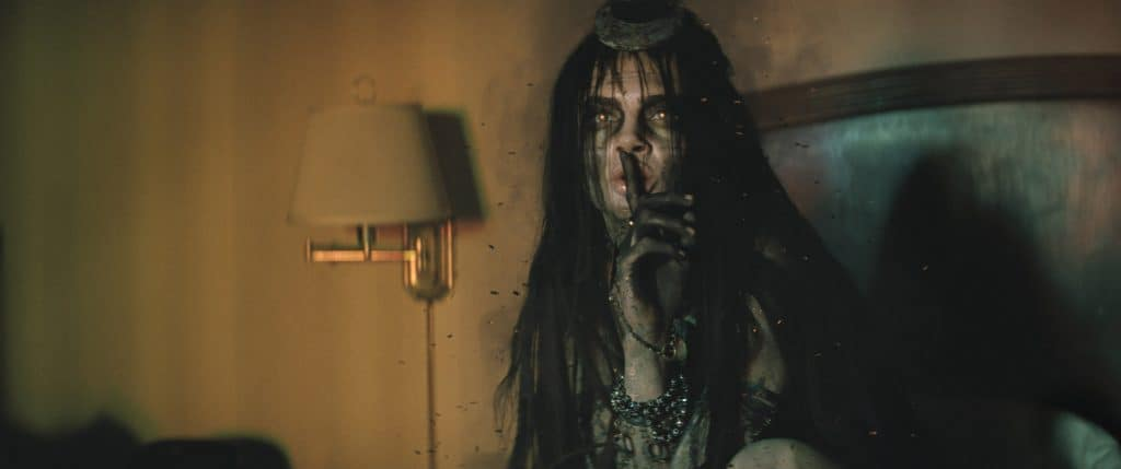 """CARA DELEVINGNE as Enchantress in Warner Bros. Pictures' action adventure """"SUICIDE SQUAD,"""" a Warner Bros. Pictures release. Photo courtesy of Warner Bros. Pictures/ TM & © DC Comics"""