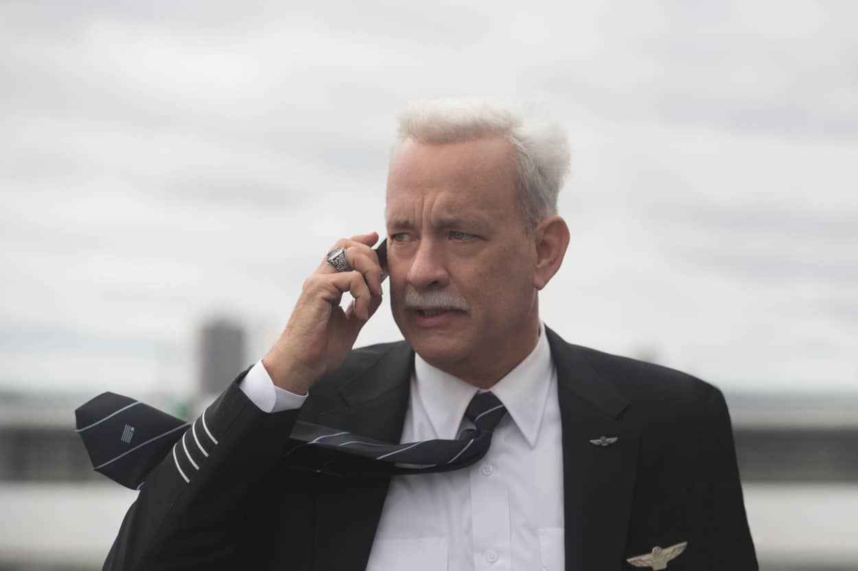 """Tom Hanks as Chesley """"Sully"""" Sullenberger in Warner Bros. Pictures' and Village Roadshow Pictures' drama SULLY, a Warner Bros. Pictures release. Photo by Keith Bernstein"""